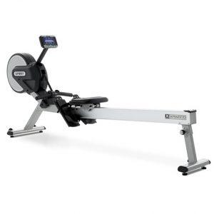 Spirit CRW800 Aluminum Rowing Machine with adjustable console